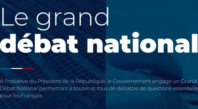 Archives : Le Grand Débat 15 fevr. à Nesmy : cloture des Registres 20 fevr.