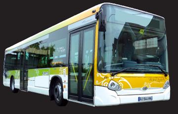 Le Bus à Nesmy et gratuit le samedi!