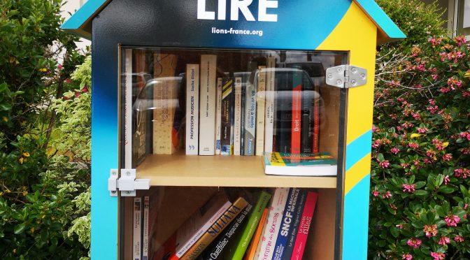 Archives : Inauguration Boite à livres Lions Club