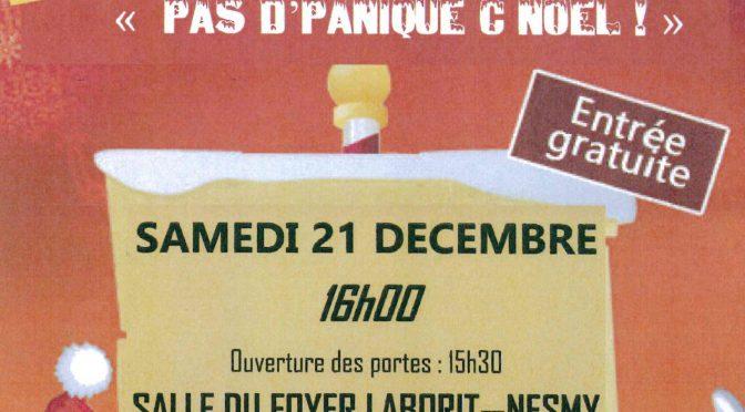 Archives : Spectacle de Noël pour enfants le samedi 21 décembre 2019