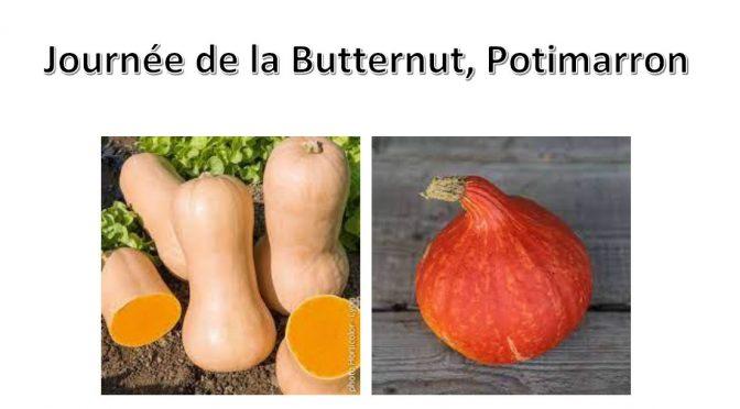 Journée de la Butternut, Potimarron 25 sept. 2021